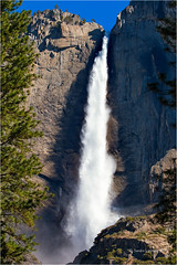 Upper Yosemite Fall (Sandra Lipproß) Tags: california yosemite nationalpark waterfall upperyosemitefall spring nature landscape outdoor usa westcoast sierranevada highsierra yosemitevalley travel wasserfall landschaft