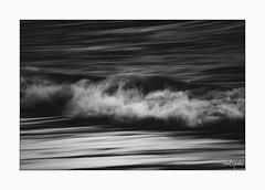 """Low"" (B.Graulus) Tags: photography photo art sea wave water blackandwhite monochrome canon spain calpe"