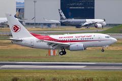 Air Algerie - Boeing 737-6D6 7T-VJU @ Toulouse Blagnac (Shaun Grist) Tags: 7tvju airalgerie boeing 737 7376d6 shaungrist tls lfbo toulouse blagnac france airport aircraft aviation aeroplanes airline avgeek landing