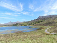 Loch Coultrie, West Highlands of Scotland, May 2019 (allanmaciver) Tags: loch coultrie highlands scotland water track lodge weather clouds warm sunny scnery allanmaciver