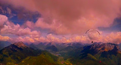 FRANCE - Savoie - 2017 World Cup (Jacques Rollet (Little Available)) Tags: parapente paraglider paragliding france savoie sunset couchant worldcup ciel sky cloud nuage groupenuagesetciel