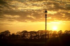 Annan Harbour Sunset
