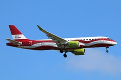YL-CSL - LGW (B747GAL) Tags: air baltic airbus a220300 lgw gatwick egkk ylcsl