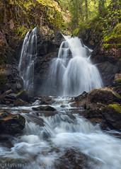 Flow (Ron Jansen - EyeSeeLight Photography) Tags: norway spring water waterfall rock rocks canyon flow lines fresh