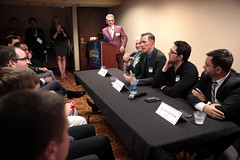 Rick Becker, Shae Sortwell, Tyler Lindholm, Daniel Zolnikov & Nathan Dahm (Gage Skidmore) Tags: rick becker shae sortwell tyler lindholm daniel zolnikov nathan dahm state representative young americans liberty convention 2019 memphis tennessee