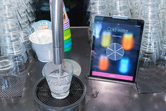 Digital buffet connects a touchscreen tablet with TopJuicer and pours cold water automatically into a glass (verchmarco) Tags: im703finland finnland ironman sports lahti visitlahti travel finland equipment ausrüstung noperson keineperson glass glas technology technologie plastic kunststoff science wissenschaft cold kalt family familie machine maschine drink getränk business geschäft container housework hausarbeit h2o research forschung industry industrie glassitems glasgegenstände homeappliance haushaltsgerät icee eis machinery maschinen2019 2020 2021 2022 2023 2024 2025 2026 2027 2028 2029 2030 colours eos restaurant naturaleza dusk countryside fun path spain colour