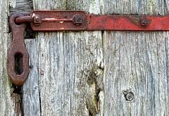 Boxcar (rickhanger) Tags: boxcar train railroad railcar textures rust rusty latch hasp