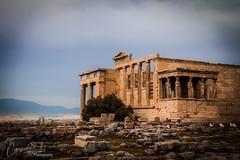Temple of Erechtheion (corineouellet) Tags: light travel exposure landscape history architecture canonphoto grèce greece athens athènes acropole acropolis temple
