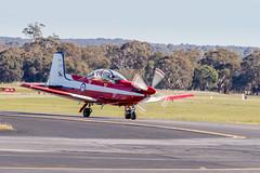 A23-037 RAAF Pilatus PC-9/A (Phil Brown C130) Tags: a23037 raaf pilatus pc9a pilatuspc9a royalaustralianairforce aircraft airplane airforce transport trainer training