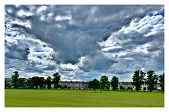 Every inch a dramatic sky! (john.methven) Tags: perth perthshire sky clouds dramatic trees architecture grass green travel iphone
