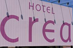 HOTEL crea (m-louis) Tags: 32mm j5 lovehotel nikon1 crea hotel japan kaizuka osaka signboard typography 大阪 日本 貝塚