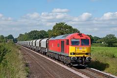 60040, Plumley (UK), 03/07/19 (bontybermo402) Tags: 60040 army centenary territorial 6h02 db cargo freight stone plumley warringtonarpley tunstead jga