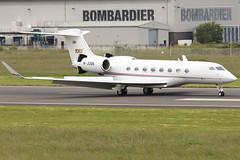 M-JCBB_04 (GH@BHD) Tags: mjcbb gulfstream gulfstreamaerospace g6 g650 jcbamfordexcavators jcb bhd egac belfastcityairport bizjet corporate executive aircraft aviation
