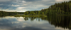Land of Thousand Lakes (A.Koponen) Tags: canon eosr rf24105mmf40 lseries hoya suomi finland lake sky clouds cloud day nature forest