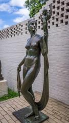 I Have Often Dreamed (BenBuildsLego) Tags: bronze sculpture escultura statue skulptur metal nude female woman figurative art museum south carolina brookgreen gardens naked goddess beautiful