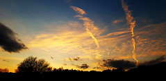 Sky scars (Suvad ArhDES pls fave my showcase first) Tags: sky scars sunset silhouettes varazdinske toplice suvad hamzić nature priroda