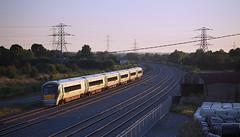 (2c..) Tags: 2c rail road railways kildare ireland sunset ie 22000 ié iarnrod eireann heading south