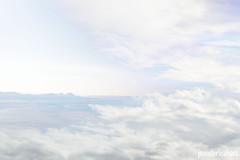 Sea and Sky #7 (jenniferleahphoto) Tags: sea sky abstract surreal landscape seascape ocean water cloud blue pastel hills mountains ep artwork music album
