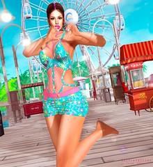 Summer love's (Silvia Galtier) Tags: fashionnatic alananazareowyn alananazar noor nazar jaradnoor jarad blog bento pose cosmopolitan silviagaltier secondlife sl