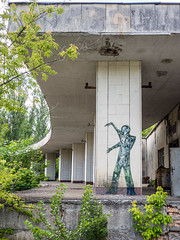 LR Chernobyl 2019-5312117 (hunbille) Tags: birgitteukraine20196lr ukraine chernobyl exclusion zone exclusionzone radiation nuclear disaster 1986 pripyat сhеrnоbуl nuсlеаr abandoned derelict palaceofculture palace culture energetik energetic curve streetart street art