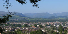 Penrith and the Ullswater Fells. (greengrocer48) Tags: penrith cumbria
