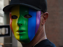 World Pride NYC 2019 (tai_lee2) Tags: pride world parade festival colors mask hat person street banner flag lgbtq happy celebration march stonewall