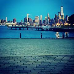 NYC Skyline From Hoboken, NJ (Christian Montone) Tags: montone christianmontone summer 2019 hoboken nj newjersey nyc ny manhattan newyork newyorkcity skyline skyscrapers cityscape dusk sunset