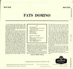 Domino, Fats - The Fabulous Mr D - UK - 1958- (Affendaddy) Tags: vinylalbums fatsdomino thefabulousmrd london imperial hap2135 uk 1958 us20thcenturyrbhero collectionklaushiltscher