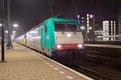 Alpha Trains 186 212 Amsterdam Centraal (daveymills37886) Tags: alpha trains 186 212 amsterdam centraal baureihe bombardier traxx ms2e