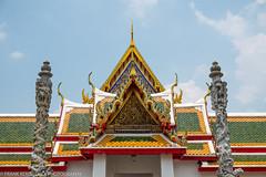 Wat Arun architecture (Alaskan Dude) Tags: travel thailand bangkok watpho watpo templeoftherecliningbuddha temples buddhisttemplecomplex art architecture cityscape