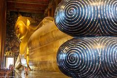 Sights at Wat Pho (the temple of the Reclining Buddha) (Alaskan Dude) Tags: travel thailand bangkok watpho watpo templeoftherecliningbuddha temples buddhisttemplecomplex art architecture cityscape 5photosaday