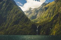 Running through my veins (.KiLTЯo.) Tags: kiltro nz newzealand milfordsound stirlingfalls falls mountain landscape forest trees nature wind sea ocean fiord