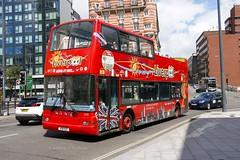 Liverpool City Sights 306 V511ESC (aptyldsley) Tags: liverpool opentop dennis trident plaxton plaxtonpresident lothian