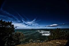 Blu' Notte (giannipiras555) Tags: mare nuvole cielo natura panorama paesaggio isole toscana seascape landscape costa