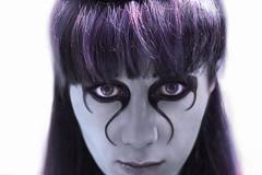 Пандора, девушка, глаза, фиолетовый, синий (Nanaccept) Tags: пандора девушка глаза фиолетовый макияж хеллоуин синий