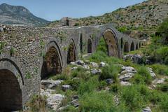 The Mesi Bridge near Mes, Albania (stevebfotos) Tags: albania stonebridge tirana river mes bridge uraemesit shkodër tiranë mesibridge rocks