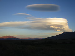 Wild Sierra Wave (stvpak) Tags: sky mountains sunset landscape outdoors sierrawave lenticularcloud cloud weather sierra highsierra reflection