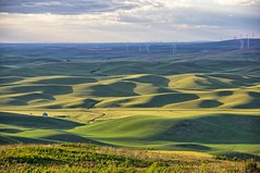 View northwest at Steptoe Butte, WA (Wayne~Chadwick) Tags: palouse hills washington pentax art