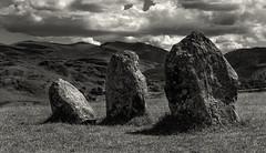 Castlerigg Stones (scrimmy) Tags: england cumbria castlerigg stonecircle stonework keswick sky ancient blackandwhite monochrome toned stone