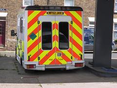 Renault Master (MF52 JHV) - ex- North West Ambulance Service (Ray's Photo Collection) Tags: faversham renault mf52jhv ambulance northwestambulanceservice master stonestreet kent