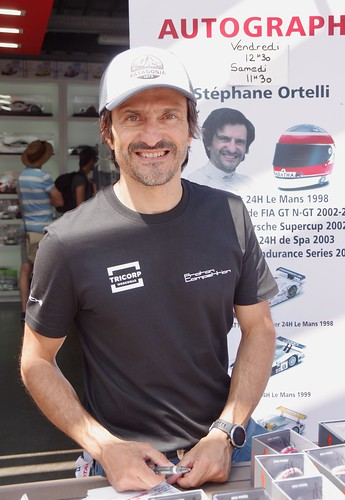Stéphane Ortelli Winner of Le Mans 24 Hours in 1998 along with Allan McNish and Laurent Aïello
