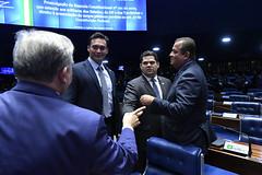Plenário do Congresso (Senado Federal) Tags: congressonacional ec1012019 emendaconstitucional militar plenário senadordavialcolumbredemap senadoreduardogomesmdbto senadorizalcipsdbdf senadorstyvensonvalentimpodemosrn sessãosolene brasília df brasil