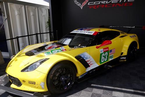 Corvette Racing's Chevrolet Corvette C7R