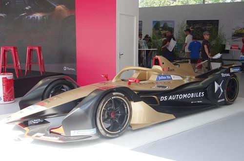 DS Techeetah Formula E Car