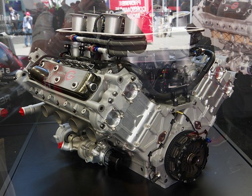 The Gibson Engine that powers the Rebellion Racing's LMP1 Prototype