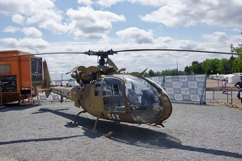 French Military Aérospatiale Gazelle Helicopter