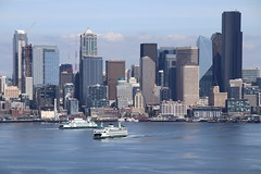Seattle 17-6-2019 (Plane Buddy) Tags: seattle city skyline waterfront