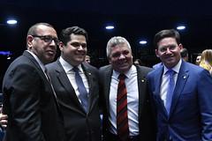 Plenário do Congresso (Senado Federal) Tags: plenário sessãosolene congressonacional emendaconstitucional ec1012019 militar senadordavialcolumbredemap exdeputadoalbertofraga deputadojoãoromaprbba brasília df brasil
