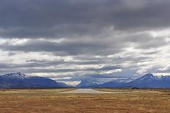 Puerto Natales (feaemarco) Tags: chile sudamerica americadosul nikon d700 nikond700 southamerica clouds nuvens mountains montanhas patagônia patagonia patagoniachilena airport aeródromo aeroporto puertonatales
