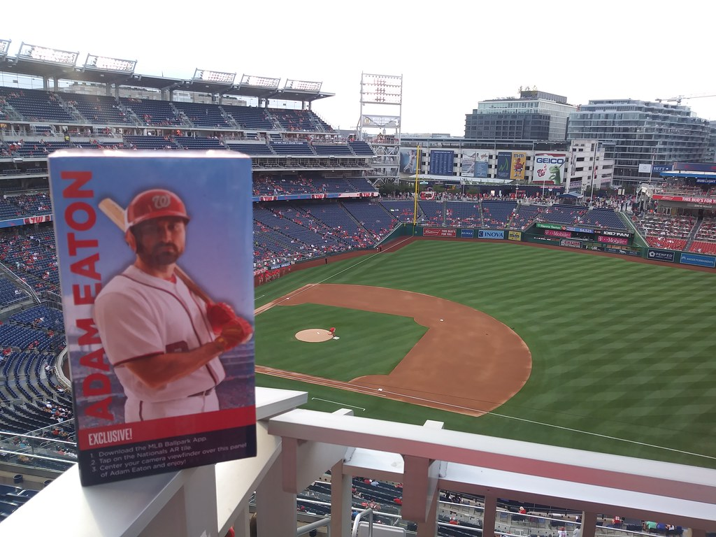 фото: Adam Eaton bobblehead at the Nats game